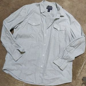 American Rag Long Sleeve Button Up Shirt